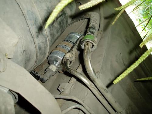 Замена топливного фильтра Ford Focus своими руками