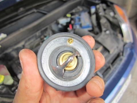 Форд фьюжен замена термостата