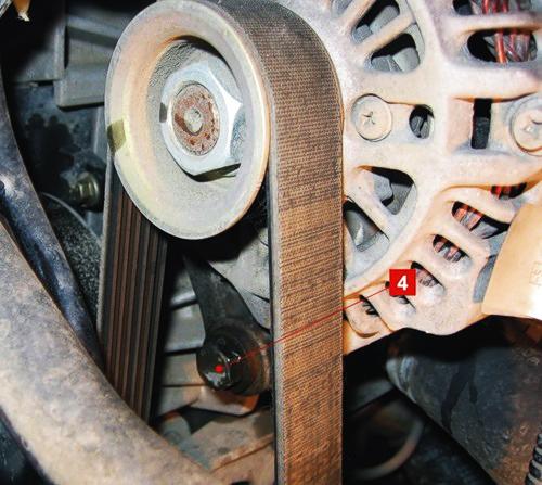 Самостоятельная замена ремня генератора Форд Фьюжн