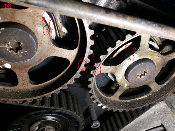 Как заменить ремень ГРМ Форд Мондео2 своими руками