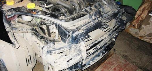 Как снять передний бампер Форд Фиеста в домашних условиях