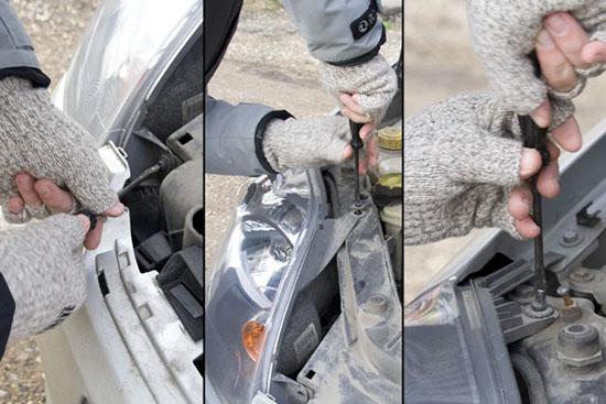 Замена лампочки габаритов Форд Фиеста своими руками