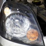 Как снять фару Форд Фиеста. Замена лампочки габаритов Ford Fiesta