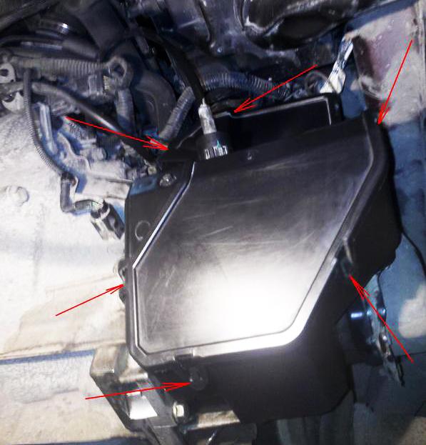 Как заменить масло форд фокус 2