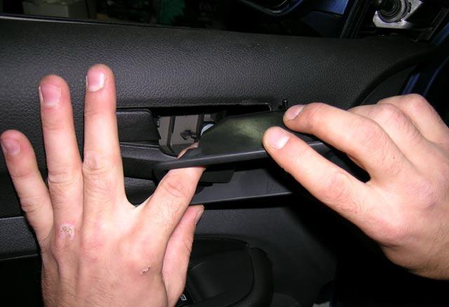 Как снять обшивку двери Форд Фокус