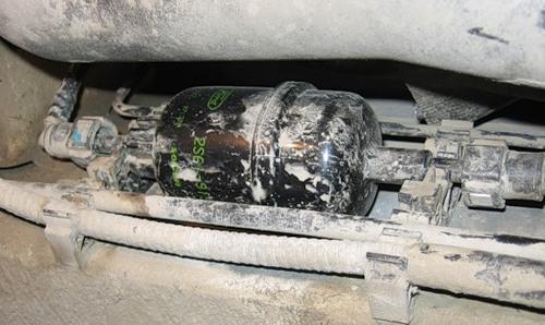 Замена топливного фильтра Ford Fiesta