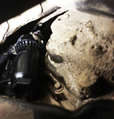 ford galaxy 2002 замен масло коробки автомат
