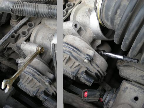 Чистка дроссельной заслонки Форд Фокус