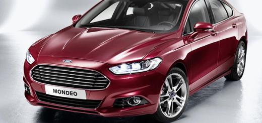 Новый Ford Mondeo четвертого поколения появится в России весной 2015
