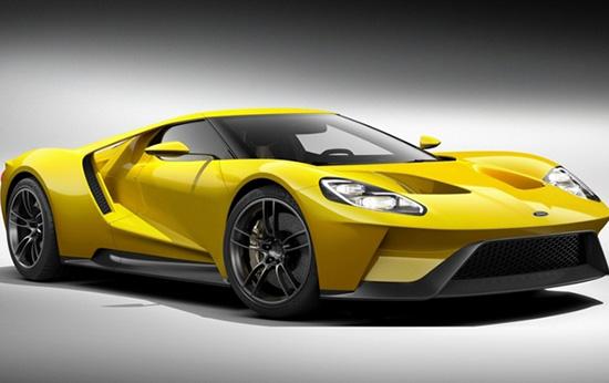 Новый Ford GT фото