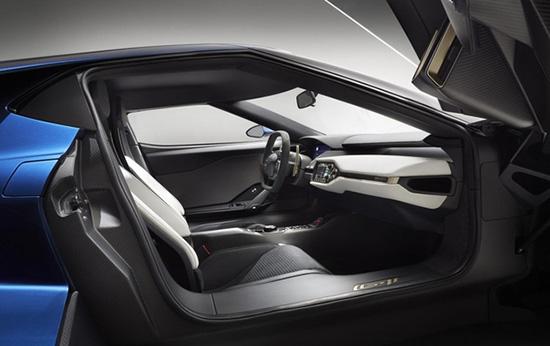 Салон Форд GT нового поколения