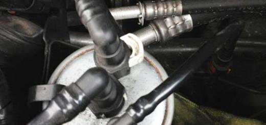 Замена топливного фильтра на Форд Мондео 3 дизель