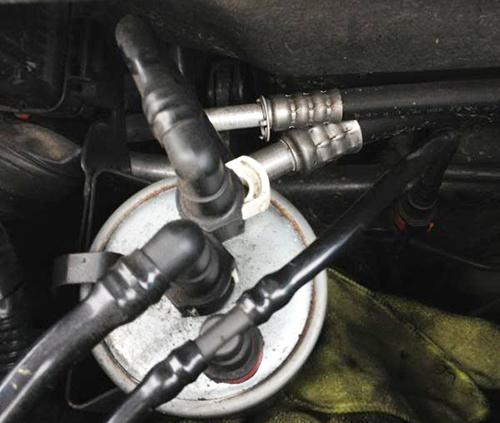 Как заменить топливный фильтр Форд Мондео 3 дизель