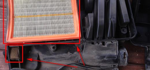 Замена воздушного фильтра на Форд Фьюжн в домашних условиях