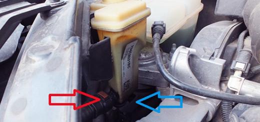 Самостоятельная замена жидкости ГУР на Ford Fusion
