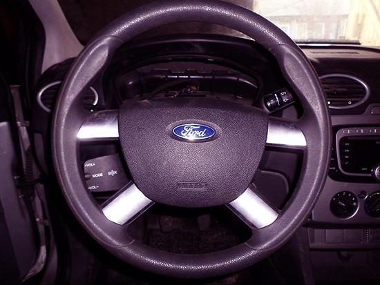 Как снять руль на Форд Фокус 2 в домашних условиях?