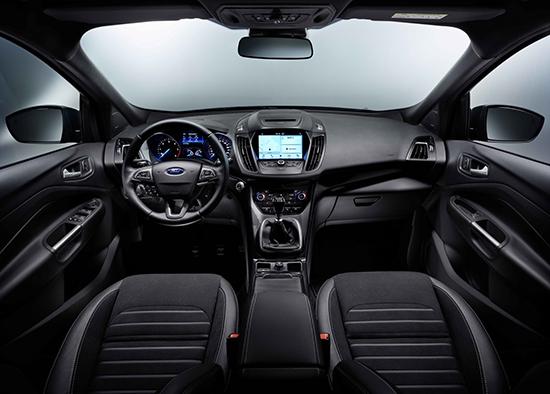 Салон Ford Kuga нового поколения
