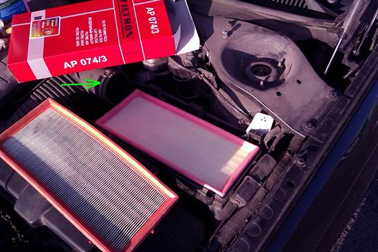 Замена воздушного фильтра форд мондео