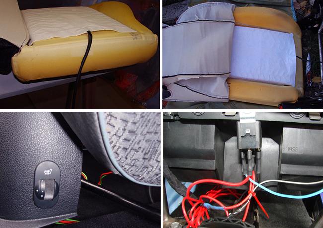 Установка подогрева сидений на Ford Fusion своими руками