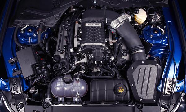 Мотор Mustang GT500