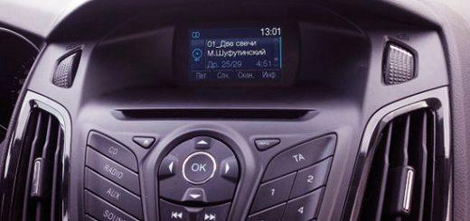 Замена дисплея радиопакета РП-32 на РП-7 на Форд Фокус 3 своими руками