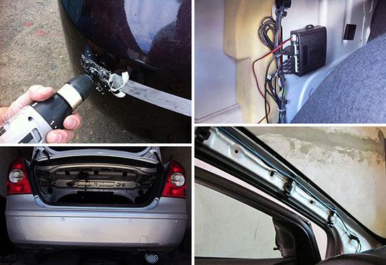 Установка парктроника на форд с-макс своими руками