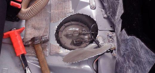 Лючок топливного насоса на Ford Focus 2 своими руками. Ремонт топливного насоса