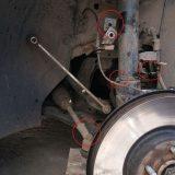 Самостоятельная замена передних амортизаторов Ford Kuga