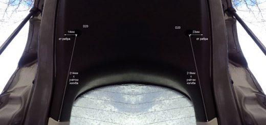 Как снять фары и заменить лампочки на пятой двери не снимая обшивку?