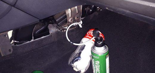 Чистка испарителя кондиционера Ford Mondeo IV. Подскажем как правильно почистить кондиционер!
