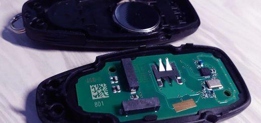 Самостоятельная замена батарейки в ключе Ford Kuga