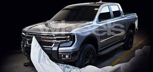 Ford заинтриговал тизером нового пикапа. Что это Ranger или F-150?